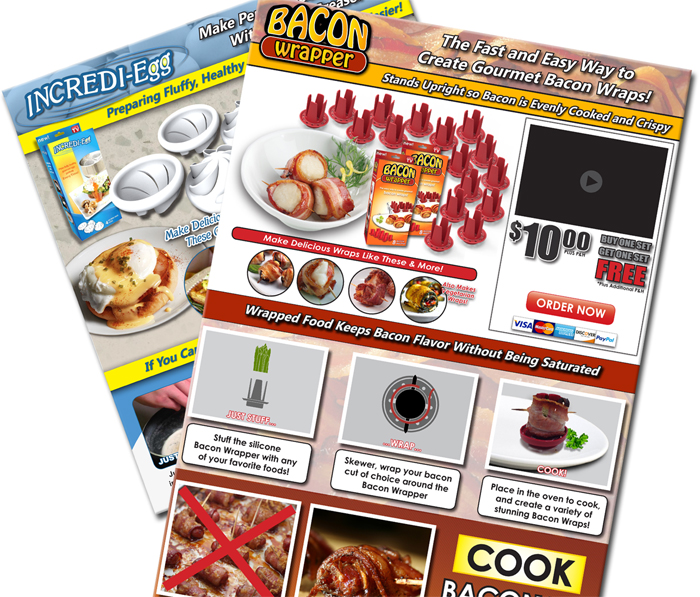 Graphic Design, Sellsheets, Logos and Packaging Design